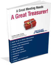 A Great Meeting Needs A Great Treasurer